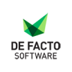 De Facto Software logo